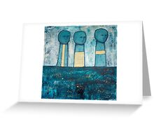 The Procession Greeting Card