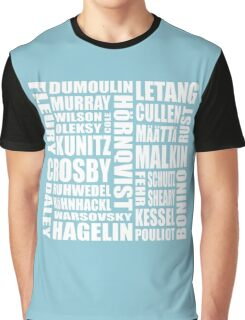 penguins roster 16-17 Graphic T-Shirt