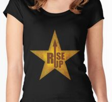 Rise up! Women's Fitted Scoop T-Shirt