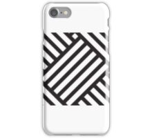 Cross Hatched Pattern iPhone Case/Skin