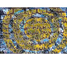 Tanzanian Space Invaders Photographic Print