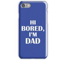 Dad Jokes (White) iPhone Case/Skin