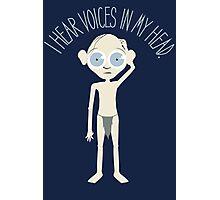 I Hear Voices Photographic Print