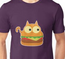 Cat Burger Unisex T-Shirt