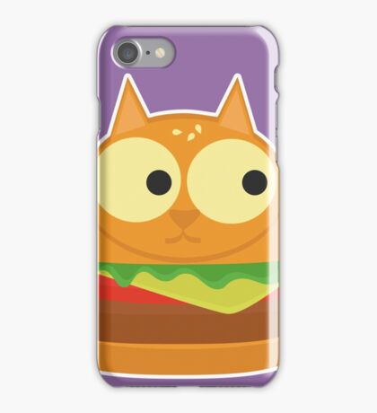 Cat Burger iPhone Case/Skin