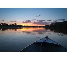 Sunset - Rio Pardo, Brazil Photographic Print