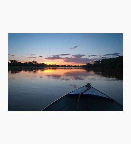Sunset - Rio Pardo, Brazil Photographic Print