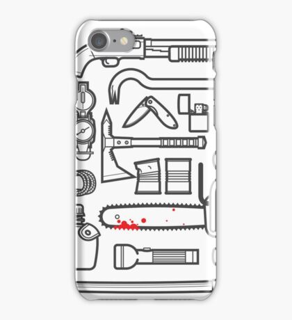 Zombie Survival Kit iPhone Case/Skin