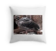 A Large Bird Throw Pillow