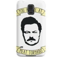 Meat Tornado Samsung Galaxy Case/Skin