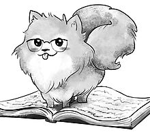 Poms can read.  by Chloe Fennell