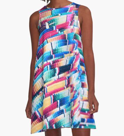 Mexico Impression A-Line Dress