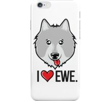 I Love Ewe iPhone Case/Skin