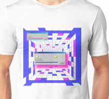 retro windows Unisex T-Shirt