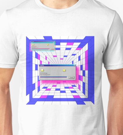retro windows Unisex T-Shirt