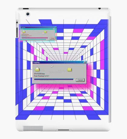 retro windows iPad Case/Skin