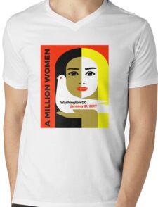 Women's March On Washington 2017 Mens V-Neck T-Shirt