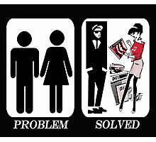 Problem Solved Ska Photographic Print