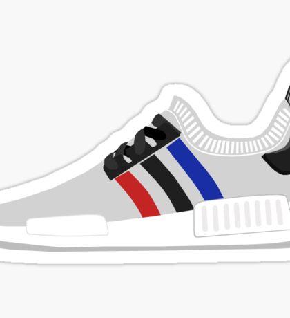 NMD R1 Tricolor White Sticker