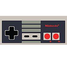 Nintendo NES Controller Sticker Photographic Print