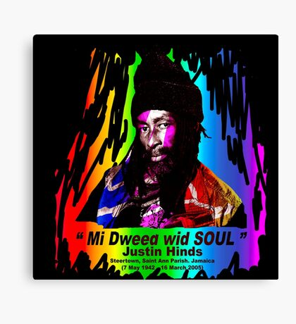 Justin Hinds SE (Special Edition) Canvas Print