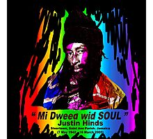 Justin Hinds SE (Special Edition) Photographic Print