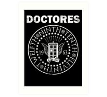 The Doctores Art Print