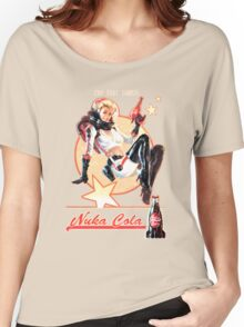Nuka-Cola pin-up Women's Relaxed Fit T-Shirt