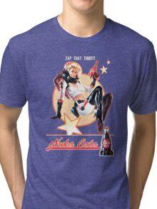 Nuka-Cola pin-up Tri-blend T-Shirt