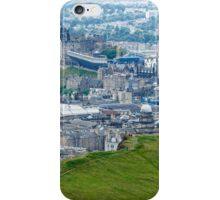 Overlooking Salisbury Crag, Edinburgh iPhone Case/Skin