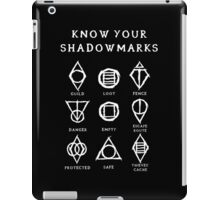 Know Your Shadowmarks (Light) iPad Case/Skin