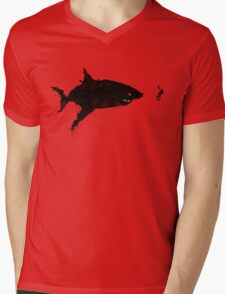 Drifting Away Slowly Mens V-Neck T-Shirt