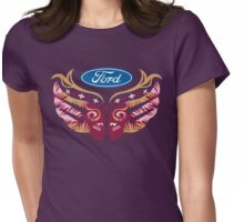 Cares Breast Cancer Womens Fitted T-Shirt