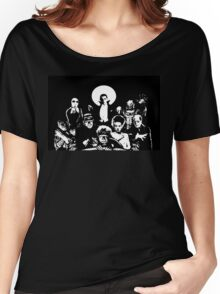 Horror RETRO Vintage Drive In Movie Monsters Women's Relaxed Fit T-Shirt