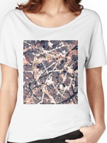 Abstract expressionism pattern 1 Women's Relaxed Fit T-Shirt