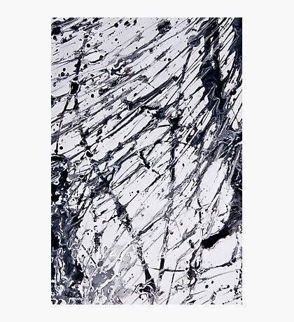 Abstract expressionism pattern 2 Photographic Print