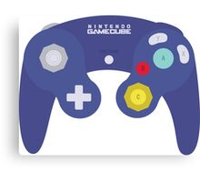 Gamecube Controller Design Canvas Print