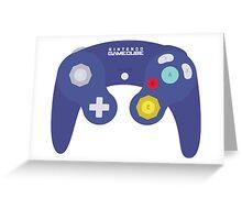 Gamecube Controller Design Greeting Card