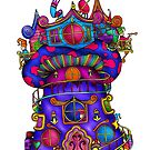 Mushroom Castle by Octavio Velazquez