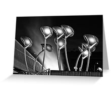 Solar Trees in the Wind Greeting Card