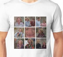 Kitty Forman Laugh Collage Unisex T-Shirt