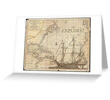 Explore! Greeting Card