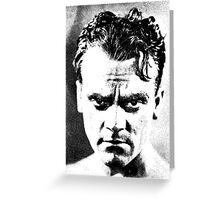 James Cagney Is Gonna Fight It Out Greeting Card