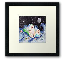 Underwater Dreams (queen size duvet) Framed Print