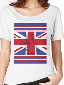 GREAT BRITAIN 3 Women's Relaxed Fit T-Shirt