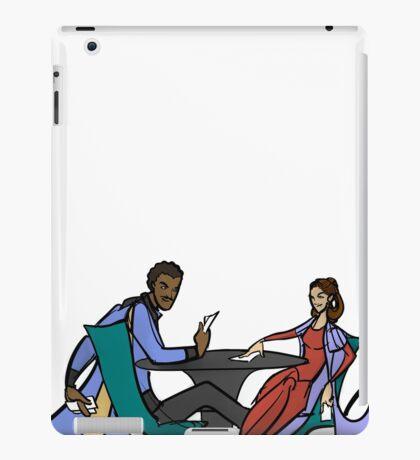 Leia and Lando (The Cardsharps) iPad Case/Skin