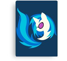 Emblem of Harmony - Vinyl Scratch (DJ Pon3) Canvas Print