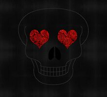 Skull & Roses I - Tablet by soffify