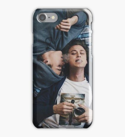 isak + evan skam iPhone Case/Skin
