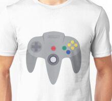 Nintendo 64 Controller Design Unisex T-Shirt